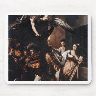 Mousepad Caravaggio - os sete trabalhos da pintura do