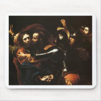 Mousepad Caravaggio - tomada do cristo - trabalhos de arte
