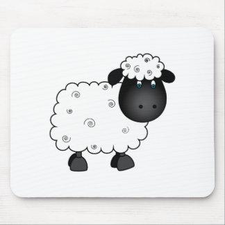 Mousepad Carneiros do bebê para a ovelha