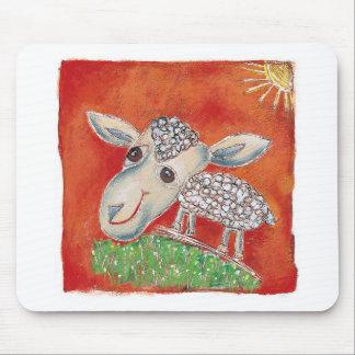 Mousepad carneiros vermelhos
