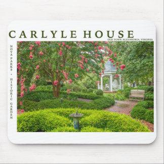Mousepad Casa de Carlyle e jardim histórico