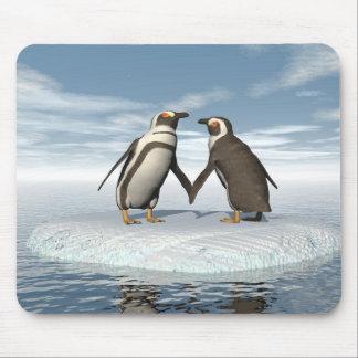 Mousepad Casal dos pinguins