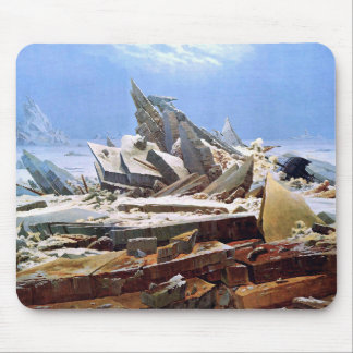 Mousepad CASPAR DAVID FRIEDRICH - o mar do gelo 1824
