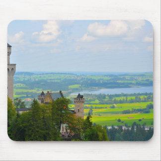 Mousepad Castelo de Neuschwanstein em Baviera Alemanha