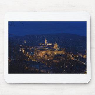 Mousepad Castelo Hungria Budapest de Buda na noite