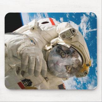 Mousepad Catstronaut, astronauta, esteira do rato
