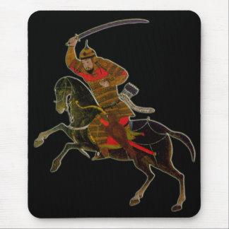 Mousepad Cavaleiro do Mongolian na batalha