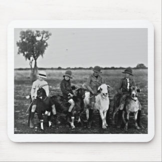 Mousepad Cavaleiros da cabra do passado