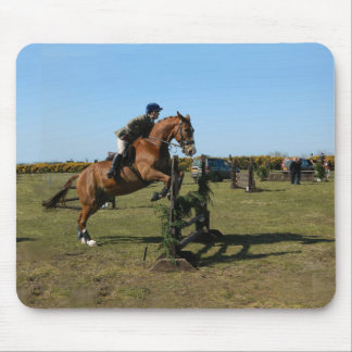 Mousepad Cavalo e cavaleiro de salto
