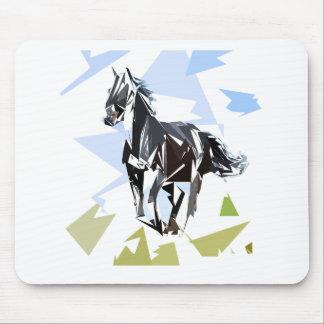 Mousepad Cavalo preto
