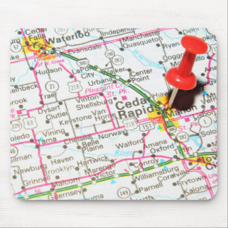 Mousepad Cedar Rapids, Iowa