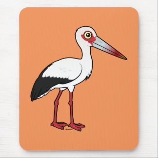 Mousepad Cegonha de Birdorable Maguari