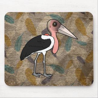 Mousepad Cegonha de marabu de Birdorable