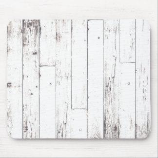 Mousepad Celeiro rústico de madeira branco da casa da