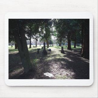 Mousepad Cemitério sombrio
