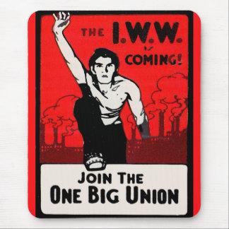Mousepad cerca de 1905 IWW está vindo