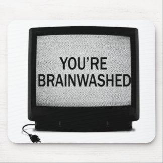 Mousepad cérebro e o mouspad do rato