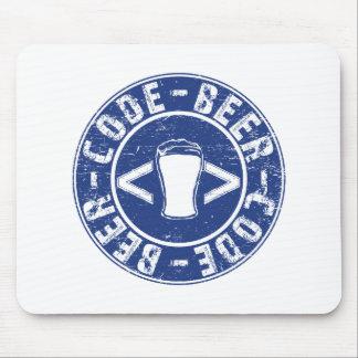 Mousepad Cerveja e programador do código