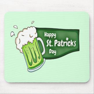 Mousepad Cerveja feliz do dia do St. Patricks