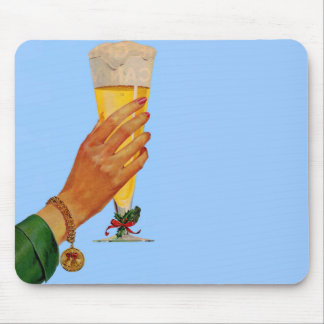 Mousepad cerveja para o Natal