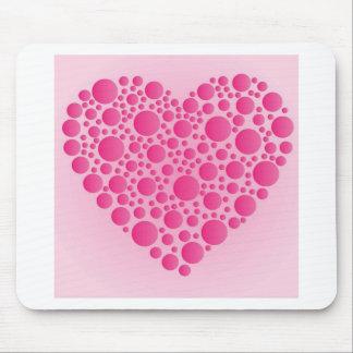Mousepad Cervo cor-de-rosa da bolha