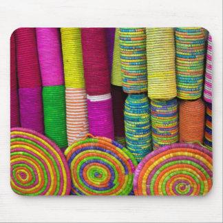 Mousepad Cestas coloridas no mercado