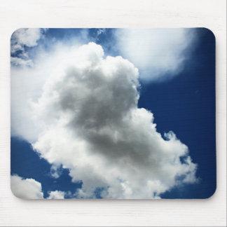 Mousepad Céu azul com nuvens