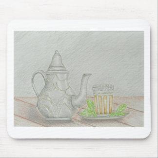 Mousepad chá com hortelã