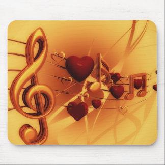 Mousepad Chave do violino