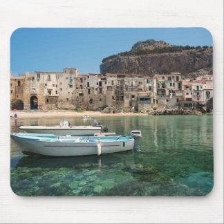 Mousepad Cidade de Cefalu em Sicília