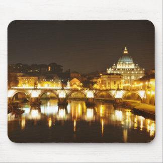 Mousepad Cidade do Vaticano, Roma, Italia na noite