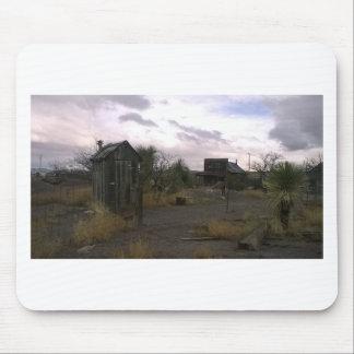 Mousepad Cidade fantasma ocidental do país de origem