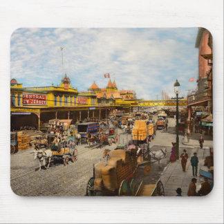 Mousepad Cidade - NY - cem certos anos há 1900