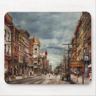 Mousepad Cidade - NY - o mercado nunca em mudança 1906