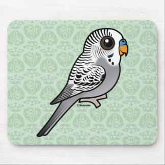 Mousepad Cinza Budgie de Birdorable