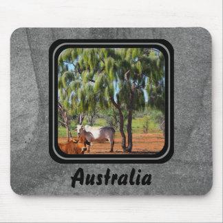 Mousepad cinzento das árvores de Waddi