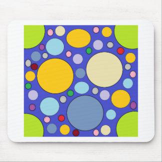 Mousepad círculos e bolinhas