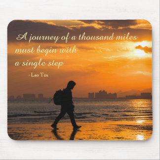 Mousepad Citações clássicas da viagem de Tzu do Lao
