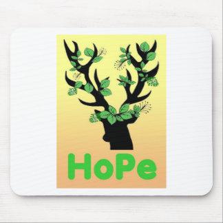 Mousepad Citações da esperança do chifre dos cervos
