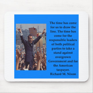 Mousepad Citações de Richard Nixon