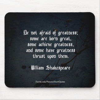 Mousepad Citações de William Shakespeare