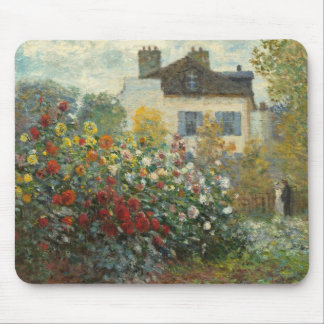 Mousepad Claude Monet | o jardim do artista em Argenteuil