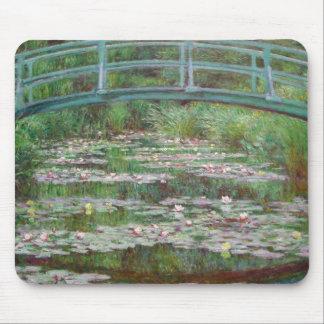 Mousepad Claude Monet - o passadiço japonês