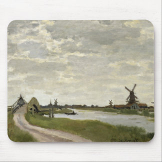 Mousepad Claude Monet - os moinhos de vento aproximam