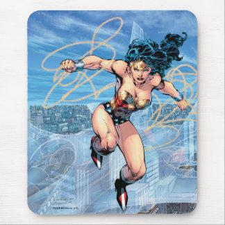 Mousepad Cobrir cómico #16 da trindade da mulher maravilha