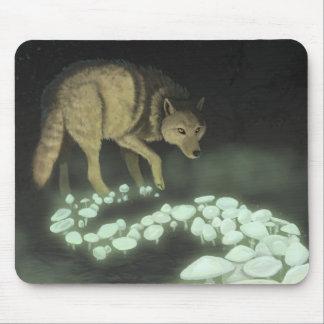 Mousepad Cogumelos de arrasto da morte do lobo