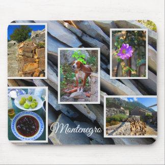 Mousepad Coleção do viagem de Montenegro