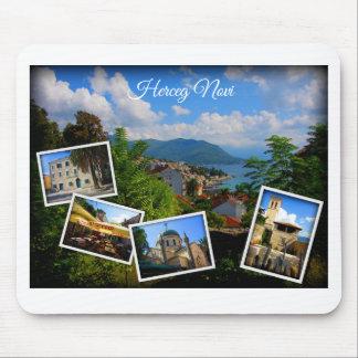 Mousepad Coleção do viagem de Montenegro - Herceg Novi
