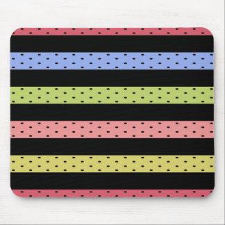Mousepad Color-Happy_Stripes (c) Multi_Colored_