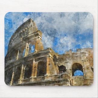 Mousepad Colosseum em Roma antiga Italia
